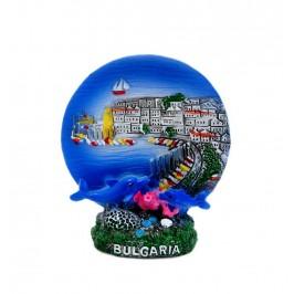 Декоративна фигурка с интересна форма - морски пейзаж - България