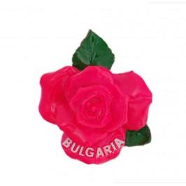 Декоративна фигурка с магнит във формата на роза - България