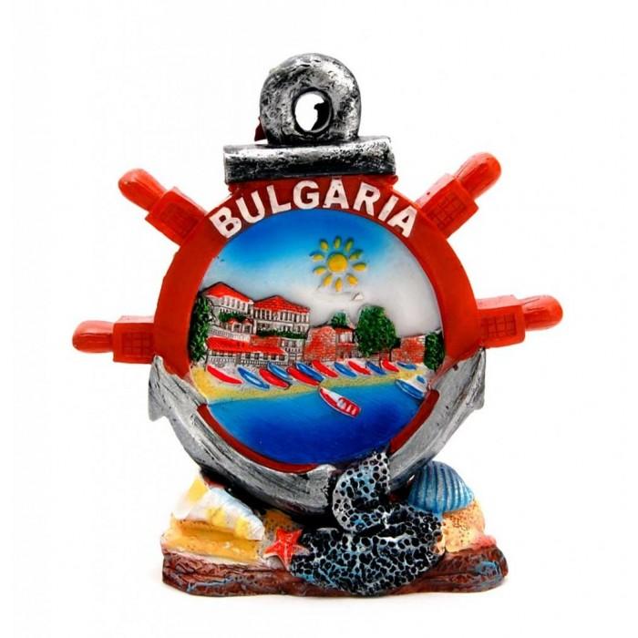 Декоративна фигурка във формата на котва и рул - България