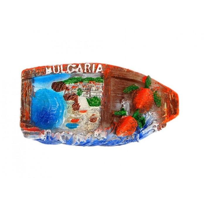 Декоративна магнитна фигурка във формата на лодка - България