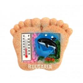 Декоративна фигурка с магнит във формата на стъпала - България