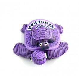 Сувенирна гумена фигурка с магнит - костенурка с малкото си