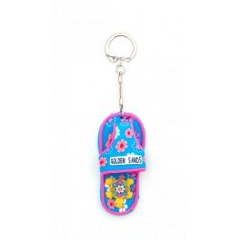 Сувенирен цветен ключодържател - джапанка