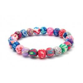 Цветна гривна с топчета