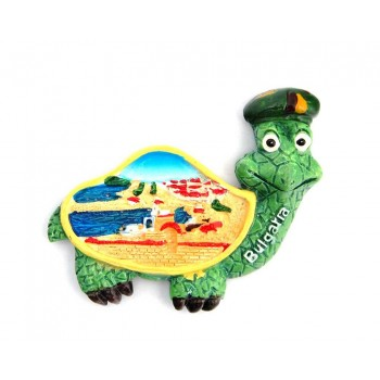 Декоративна фигурка с магнит във формата на костенурка - България