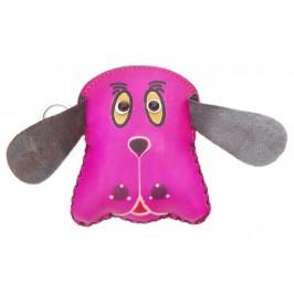 Кожено портмоне във формата на куче
