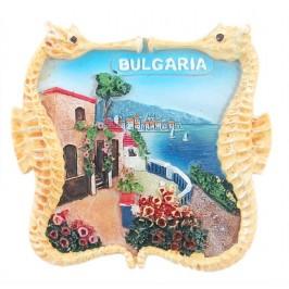 Магнитна релефна фигурка с морски кончета - морски мотиви, България