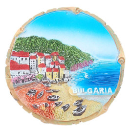 Магнитна релефна фигурка - морски изглед, България