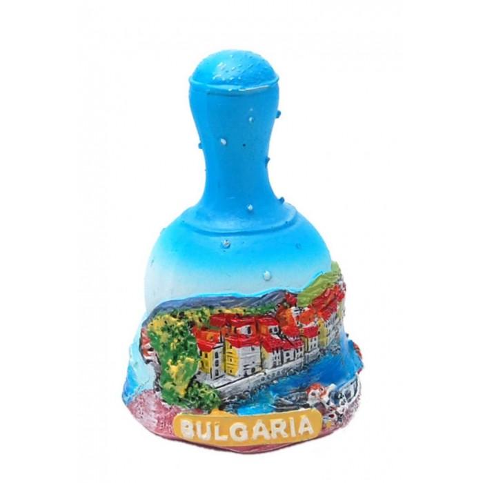 Сувенирна камбанка със звънче - морски мотиви, България
