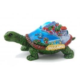 Сувенирна декоративна фигурка във формата на костенурка - морски мотиви, България