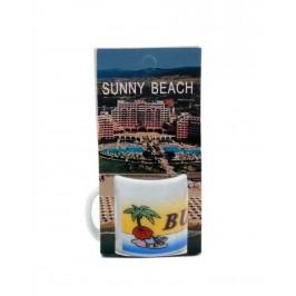 Сувенирна чаша от порцелан - Слънчев бряг