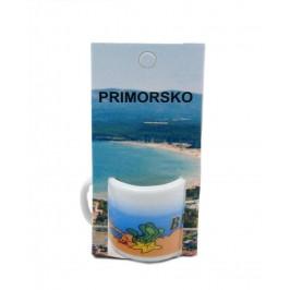 Сувенирна чаша от порцелан - Приморско