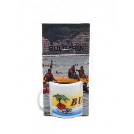 Сувенирна чаша от порцелан - България