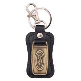 Ключодържател, изработен от кожа с метална пластина - Ford