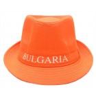Бомбе с надпис България - оранжево