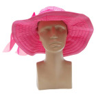 Дамска шапка с декоративна лента
