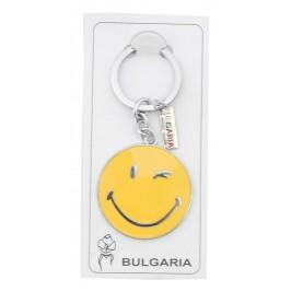 Сувенирен метален ключодържател с фигурка - усмихнато човече