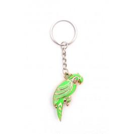 Сувенирен ключодържател във формата на папагал
