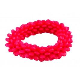Цветна гривна с интересна форма, изработена от PVC материал