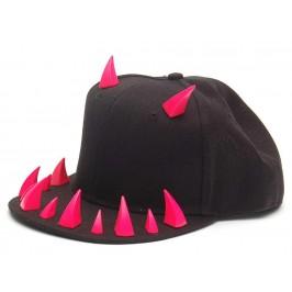 Спортна лятна шапка с козирка и шипове