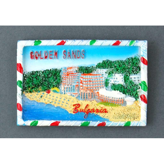 Магнитна релефна фигурка - плажовете на Златни пясъци
