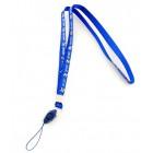 Връзка за врат за мобилен телефон - текстил