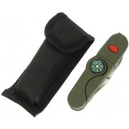 Мултифункционален джобен нож с 13 функции и удобен калъф