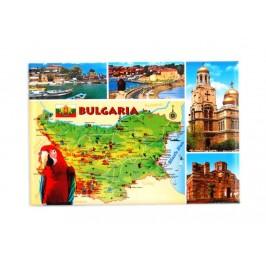 Сувенирна магнитна фигурка - забележителности в България