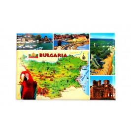 Сувенирна магнитна фигурка - България
