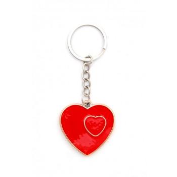 Сувенирен ключодържател във формата на сърце