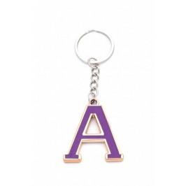 Сувенирен метален ключодържател - буква А