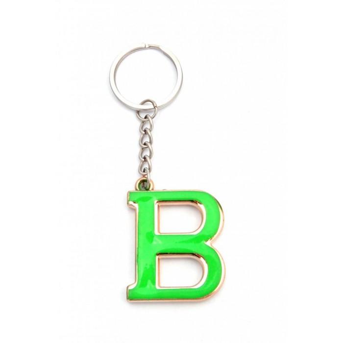 Сувенирен метален ключодържател - буква В