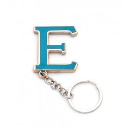 Сувенирен метален ключодържател - буква Е
