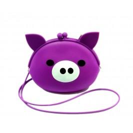 Цветна чантичка във формата на прасенце
