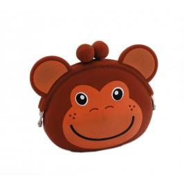 Цветно портмоне във формата на маймунка