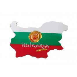 Сувенирна магнитна пластинка - контури на България