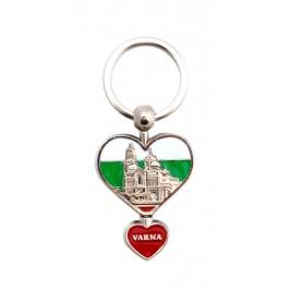 Сувенирен ключодържател във формата на сърца