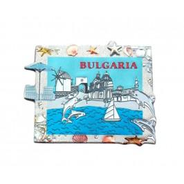 Сувенирна магнитна пластинка - забележителности по Българското Черноморие