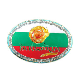 Магнитна сувенирна отварачка с овална форма