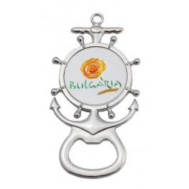 Магнитна отварачка във формата на рул и котва - цвете, България