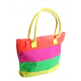 Цветна лятна чанта - текстил
