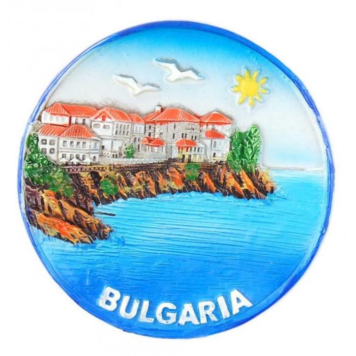 Декоративна релефна фигурка с магнит - морски мотиви, България
