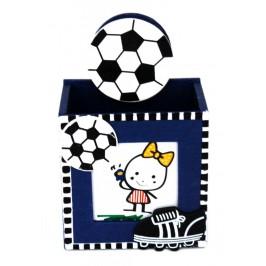 Забавна поставка за химикали с щипка - спортни топки, подходяща за съхранение на моливи, химикали и други пишещи средства