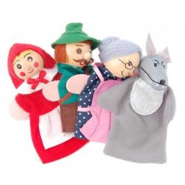 Сувенир от дърво - кукла за пръсти