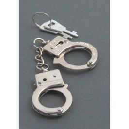Ключодържател във формата на мини белезници с две ключета