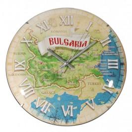 Сувенирен стенен часовник - диаметър 30см