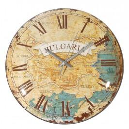Сувенирен стенен часовник - диаметър 27см