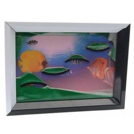 Пясъчна картина с огледало