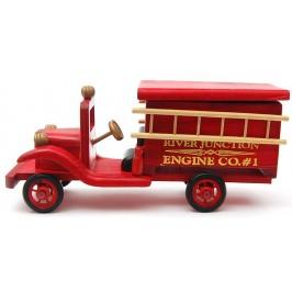 Сувенир от дърво - камион, ръчна изработка
