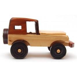Сувенир от дърво - кола, ръчна изработка